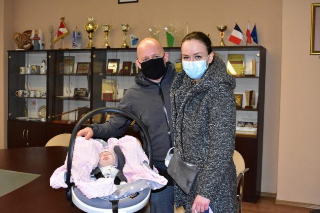 Pierwsze dziecko urodzone w 2021 roku w Żaganiu r