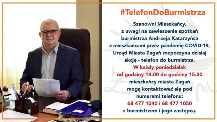 Telefon do burmistrza