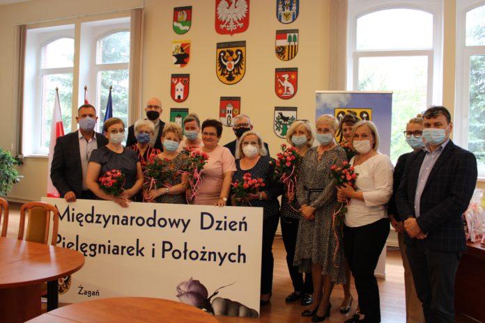 Spotkanie w Starostwie Powiatowym w Żaganiu