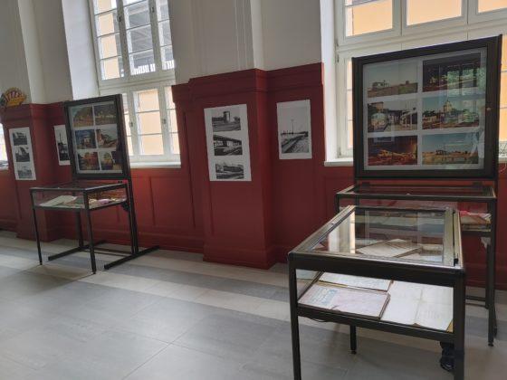 Wystawa kolejowa w Żaganiu