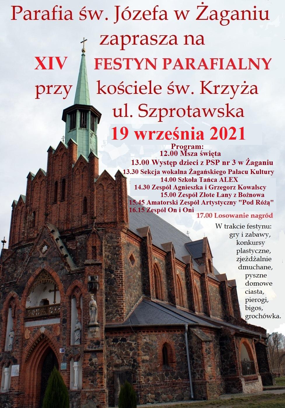 Festyn Parafialny przy kościele św. Krzyża