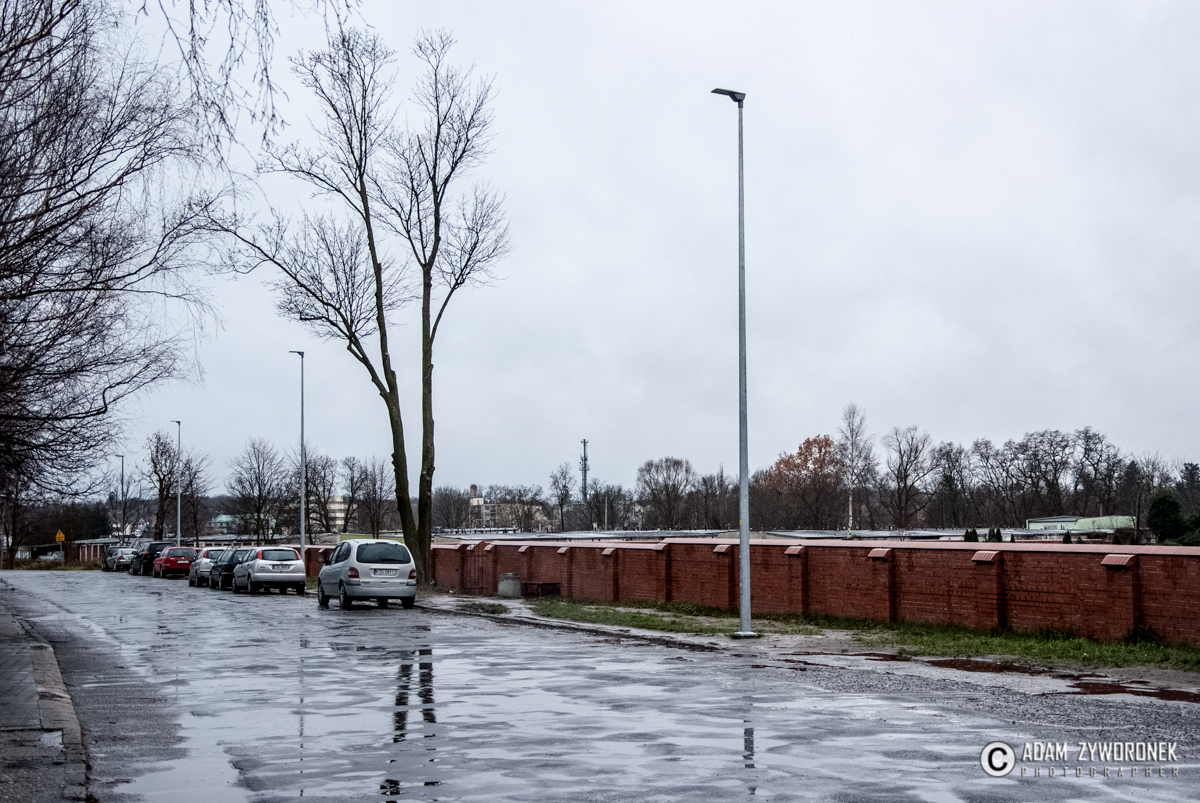 Nowe Lampy Koło Cmentarza Urząd Miasta żagań