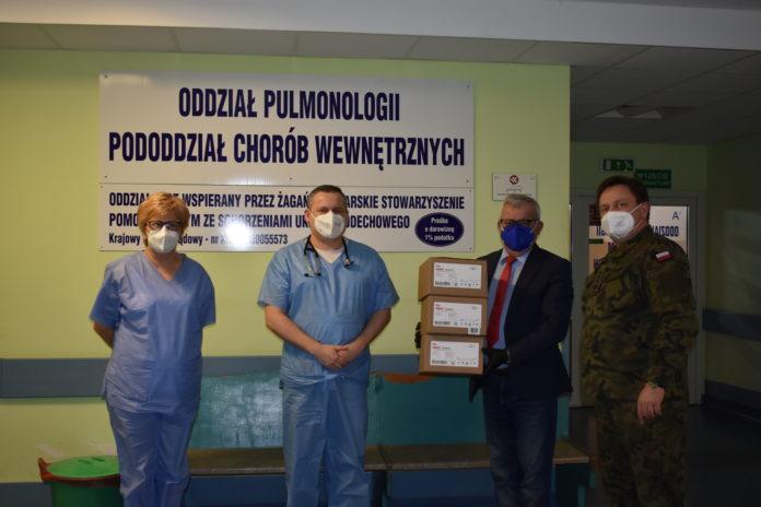 Pulsoksymetry dla szpitala