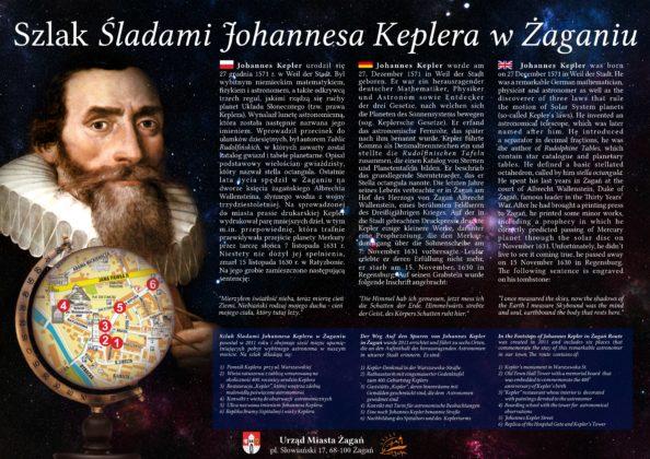 Tablica Keplera ul. Warszawska