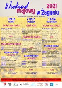 Plakat weekend majowy