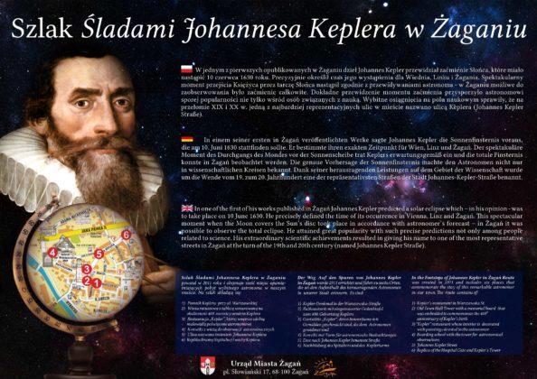 Tablica Keplera ul. Keplera