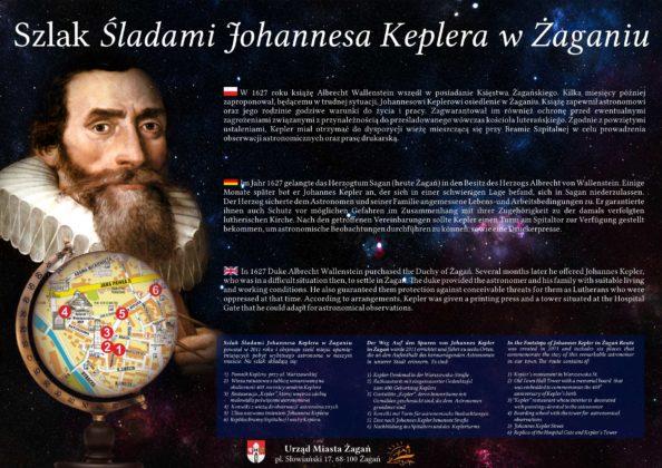 Tablica Keplera przy Bramie Szpitalnej