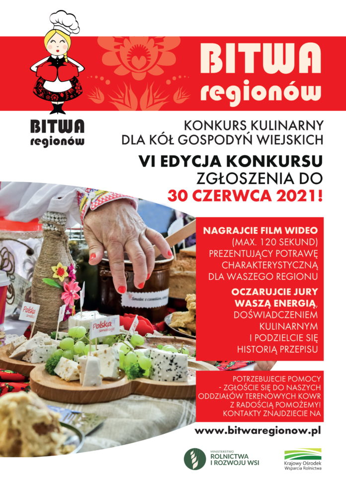 Plakat Bitwa Regionów 2021