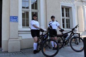 Patrole rowerowe Straży Miejskiej