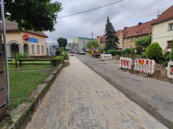 Przebudowa chodnika przy ul. Świerkowej i Kazimierza Pułaskiego