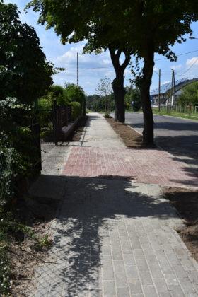 Nowy chodnik na ul. Bema