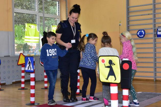 Straż Miejska edukuje najmłodszych